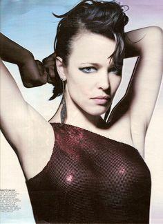 T Style Magazine - Women's Fall 2008  Rachel McAdams, VBH Earrings