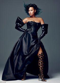 Demi Lovato - Sophia Webster Laser Cut Boots