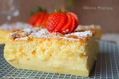 Gâteau magique facile à la vanille, une recette ultra simple et rapide d'un délicieux dessert incroyablement fabuleux