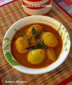 CURRY AND SPICE: KERALA EGG CURRY