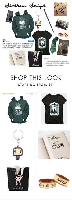 """""""Severus Snape"""" by cosplay-er ❤ liked on Polyvore featuring Funko and Warner Bros."""