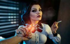 Elizabeth bioshock infinite Bioshock Game, Bioshock Series, Bioshock Infinite Elizabeth, Elizabeth Cosplay, Bioshock Cosplay, Girls Dress Up, Dieselpunk, Best Cosplay, Cosplay Girls