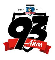 93 Aniversario Colo-Colo #93Años #ColoColo Fútbol #Chile Chile, Monkey, Symbols, Retro, Necklaces, Best Walpaper, Champs, Cute, Sports