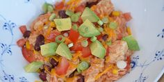 Virkelig velsmagende mexicansk gryderet, hvor risene koges med i retten, så de optager al den dejlige smag.