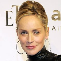 Sharon Stone's Changing Looks - 2010 from InStyle.com