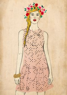 Garland by Magdalena Pankiewicz, via Behance