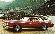 1973 Monte Carlo - I had this exact car in the late 70s early 80s, although, mine was navy blue... man, I loved that car!