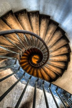 German Castle Stairs by Martin Haschke on 500px