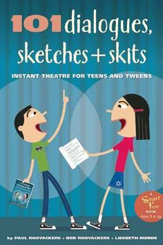 101 Dialogues, Sketches & Skits: Instant Theater for Teens & Tweens is a collection of short theater dialogues that can be performed on the spot. Each dialogue is introduced with suggested interpretat