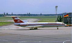 Interflug Tupolev Tu154