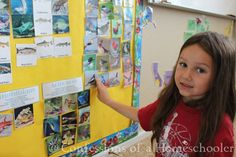 Bulletin board ideas to go with Road Trip USA: A Journey across the United States geography curriculum