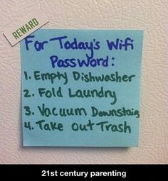 Brilliant idea, not sure I'd remember to change the password though.