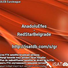 #AnadoluEfes #RedStarBelgrade #ULEBEuroleague Live FTA satellite broadcast streams. Hangi kanalda maçı şifresiz veren kanallar. Flux de radiodiffusion satellite en direct de la FTA. يعيش اتفاقية التجارة الحرة بين تيارات البث الفضائي. http://isatdb.com/s/gr