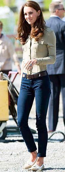 Shirt | Burberry Jeans | J Brand | Kate looks Amazing