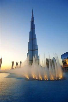 Burj Khalifa and the Dancing Fountains...