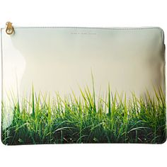 """I'm diggin this """"The Grass is Always Greener"""" Zip Case by Marc by Marc Jacobs"""
