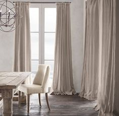 Maybe the Taupe. I like I simple this is. We should probably go visit RH to see the colors in person. I know there is one here, do you have one near Savannah? Belgian Heavyweight Textured Linen Drapery
