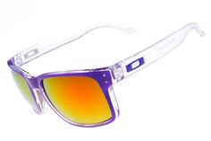 New Oakley Holbrook Sunglass White/Purple Frame 3338 [New Holbrook003] - $12.50 : Cheap Sunglasses,Cheap Sunglasses On sale