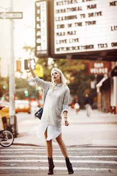 Street Style from New York via Masha Sedgwick | Fashion Week in New York SS16 - outfit