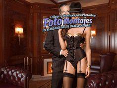 Foto montaje Hombre con Chica Sexy. - Fondos para Fotos y Foto Montajes en alta calidad.