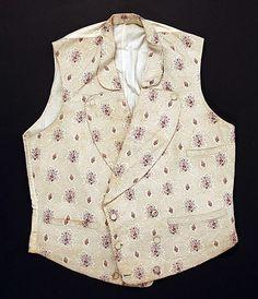 Vest  Date: mid-19th century Culture: American Medium: cotton