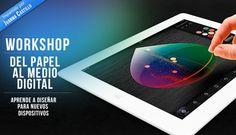 """¿Quieres aprender a diseñar un proyecto editorial para tablets, smartphones, webs o canales audiovisuales? Te proponemos 'Del papel al medio digital con Juan Manuel Castillo"""", un workshop de 9 horas dirigido a profesionales que quieran realizar la transición del papel al bit. Para más información, clica en la imagen"""