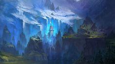 fantasy art landscapes - Google Search