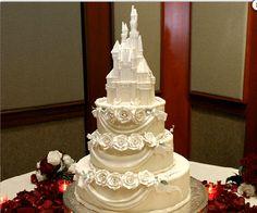 DISNEY WEDDING CAKE!!!!