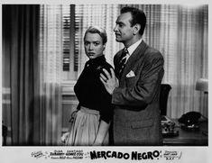 Santiago Gómez Cou and Olga Zubarry in Mercado negro (1953)