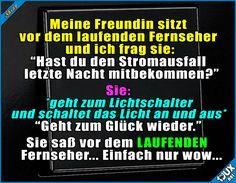 Sie kann bestimmt andere Dinge gut ^^' Lustige Storys und Bilder #Humor #Sprüche #Freundin #lustig #peinlich #hübsch #nichtklug #Jodel #lustigeStorys
