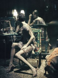 1920's Glam with Model Freja Beha and Photographer Steven Meisel to the famous comments of Coco Chanel
