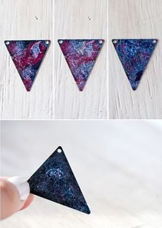 DIY Galaxy Necklace by ohthelovelythings, via Flickr