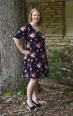 Turn the free LDT pattern into a Lularoe DIY Carly dress