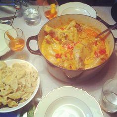 Hungarian chicken casserole   Matbloggen