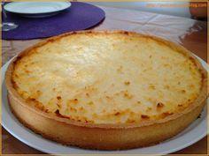 Tarte antillaise (ananas coco)