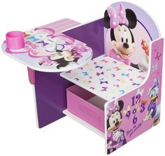Minnie Mouse Bedroom Decor | Disney Minnie Mouse Chair Desk | Free Shipping