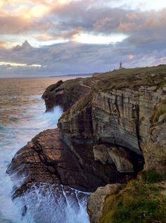 Fotos de Amanecer tras las tormenta en Cabo Mayor, Santander, España