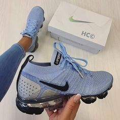 Shop Wmns Air VaporMax Flyknit 2 Aluminum Nike on GOAT. We guarantee authenticity on every sneaker purchase or your money back. Cute Sneakers, Sneakers Mode, Sneakers Fashion, Shoes Sneakers, Nike Fashion, Running Sneakers, Dsw Shoes, Shoes Men, Air Max Sneakers