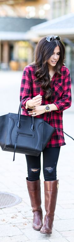 FALL MUST-HAVE.. OVERSIZED PLAID / Fashion By The Sweetest Thing