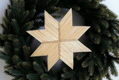 Matchstick art - star made of approx 132 sticks Xmas, Christmas Ornaments, Crafts For Kids, Easter, Valentines, Halloween, Holiday Decor, Sticks, Home Decor