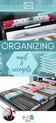Conquering Mail Clutter & Organizing Receipts #organizingclutter