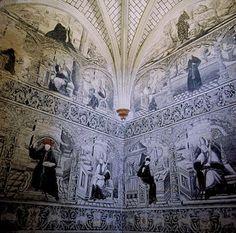 Arte religioso... la belleza de la fe, plasmado en el Ex #Convento de #Actopan http://issuu.com/infoturhidalgo/docs/infotur_hidalgo_num_13… #arquitectura