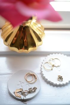 DIY Ring Trays by Cupcakes and Cashmere