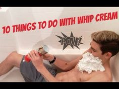 10 Things to do with whip cream - T.C. Carter (After Romeo)