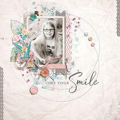 Love Your Smile - digital scrapbooking at #DesignerDigitals