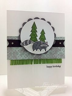 I think I might have to get this stamp set. Very cute card!