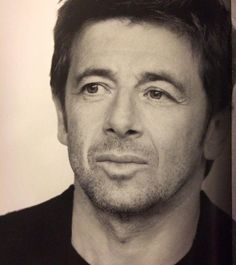 Patrick Bruel, French actor and singer