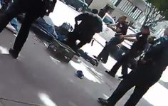 LAPD Officers Caught On Video Killing Unarmed Homeless Man