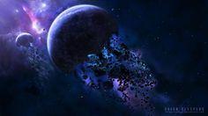 Planetary Destruction Computer Background