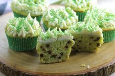 Just because they're green doesn't mean you can't include chocolate!